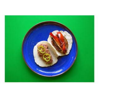 Vegan tacos homemade tortillas