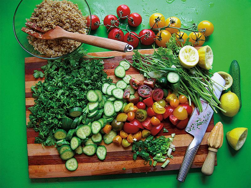 tabbouleh parsley bulghur salad