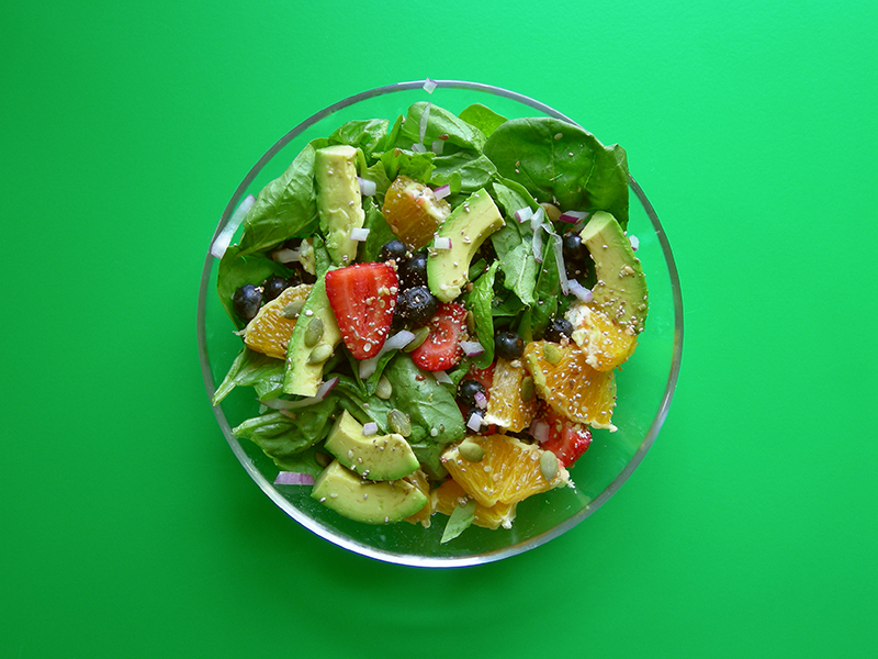 superfoods salad hemp pumpkin seeds chia buckwheat kasha flax