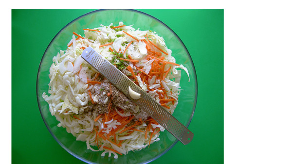 Curtido is a fermented cabbage dish much like sauerkraut, but with the addition of bright oregano and spicy jalepeno flavours! Easy to prepare right on your kitchen counter in 1 to 2 days. Find this simple fermented foods recipe and other delicious Latin inspired recipes at eastvankitchen.com